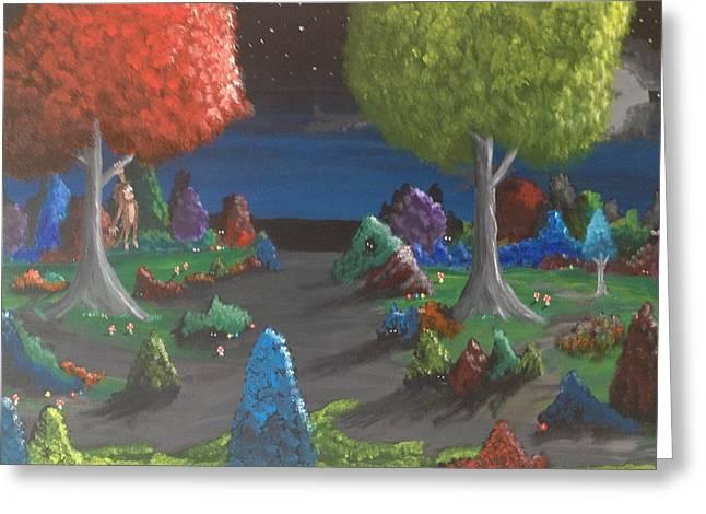 Scott Wilmot Greeting Cards - Childhood 2 Greeting Card by Scott Wilmot