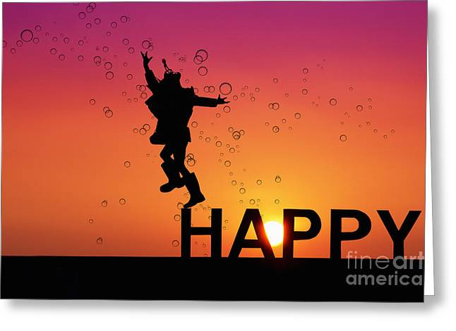 Happy Child Greeting Cards - Childs Play Greeting Card by Tim Gainey