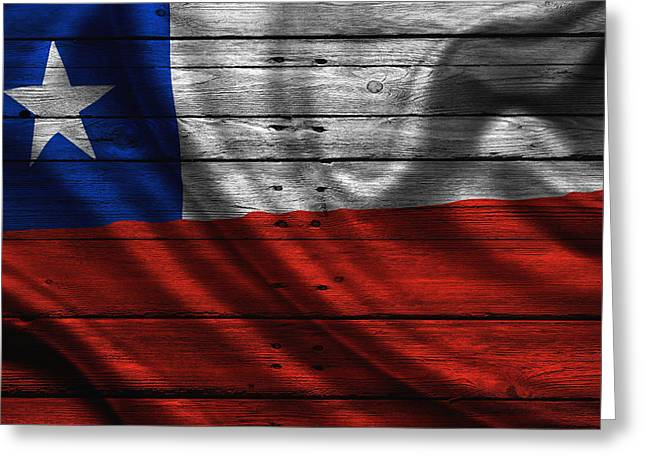 Continent Greeting Cards - Chile Greeting Card by Joe Hamilton