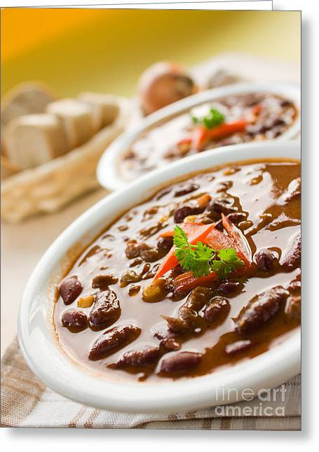 Chilli Con Carne Greeting Card by Mythja  Photography