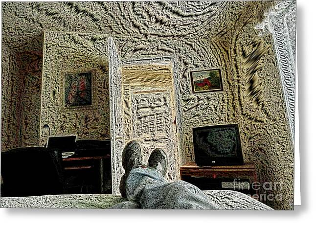 Chillin' Greeting Card by   FLJohnson Photography