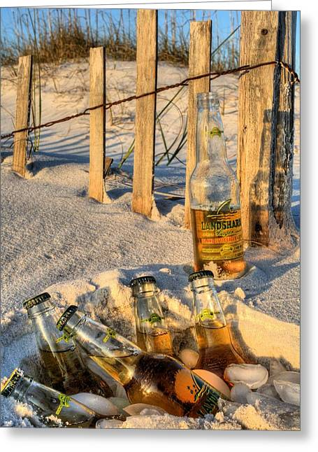 Broken-in Greeting Cards - Chillin in Destin Greeting Card by JC Findley