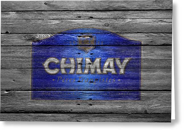 Tap Photographs Greeting Cards - Chimay Greeting Card by Joe Hamilton