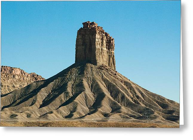 Geobob Greeting Cards - Chimney Rock Towaoc Colorado Greeting Card by Robert Ford
