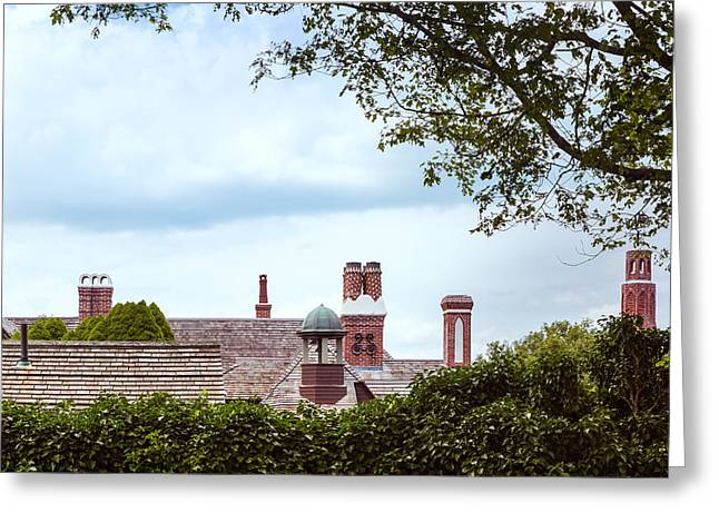 Chimneys Greeting Card by John M Bailey