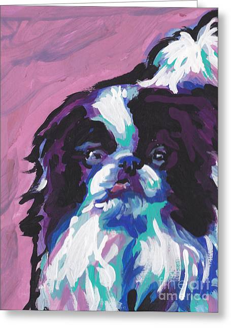Spaniel Greeting Cards - Chin Up Greeting Card by Lea