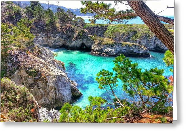 China Cove Greeting Cards - China Cove Greeting Card by Fred Nugent