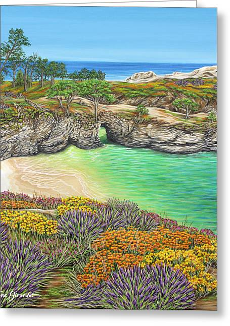 Recently Sold -  - China Cove Greeting Cards - China Cove Paradise Greeting Card by Jane Girardot