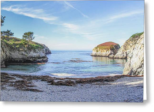 Recently Sold -  - China Cove Greeting Cards - China Cove Point Lobos Greeting Card by Brad Scott