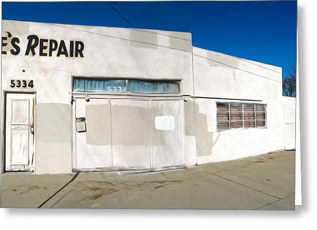 Chino - Coles Repair - 02 Greeting Card by Gregory Dyer