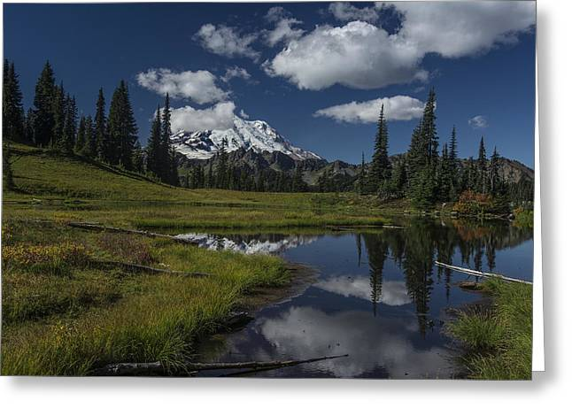 Public Issue Greeting Cards - Chinook Pass Greeting Card by Mike Sedam