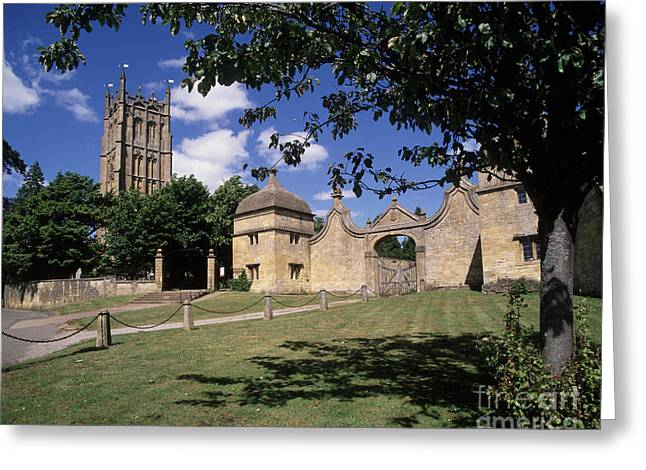 Gateway Church Greeting Cards - Chipping Campden  Greeting Card by Paul Felix