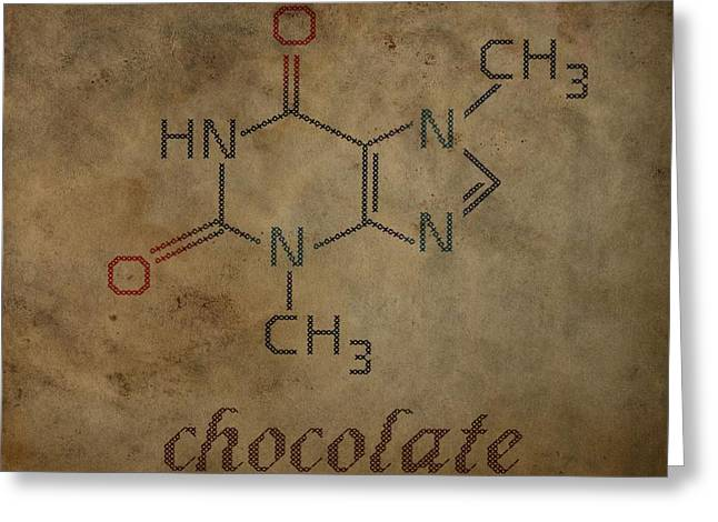 Chocolate Greeting Card by Dan Sproul