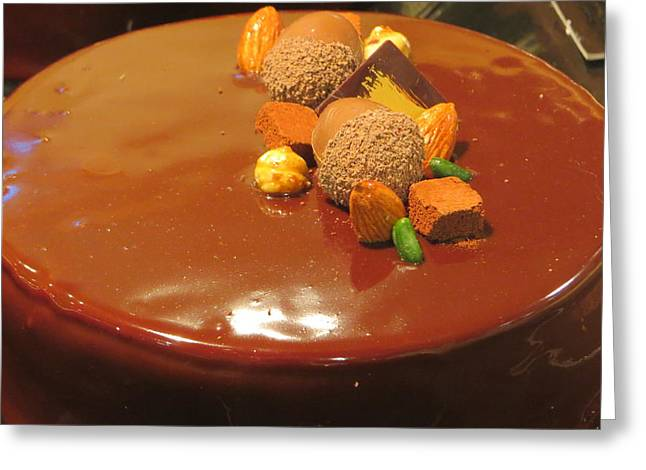 Cocoa Powder Greeting Cards - Chocolate Delight Greeting Card by B Vesseur