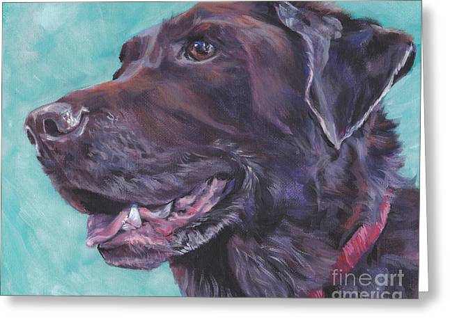 Chocolate Lab Greeting Cards - Chocolate Lab Greeting Card by Lee Ann Shepard