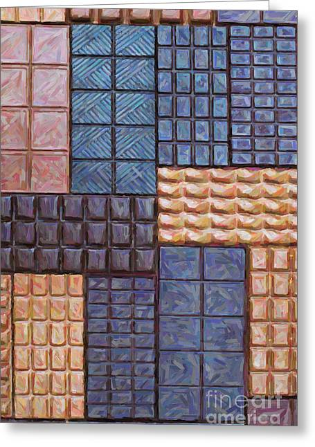 Chocolate Order Greeting Card by Tim Gainey