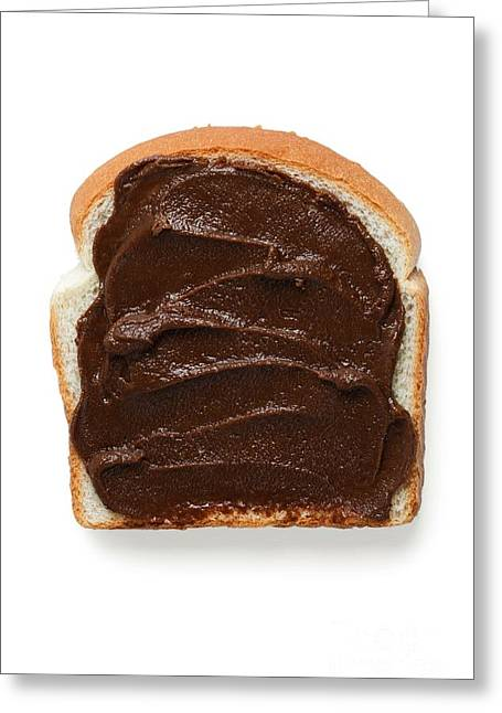 Biscotti Greeting Cards - Chocolate Sandwich Greeting Card by M and L Creations