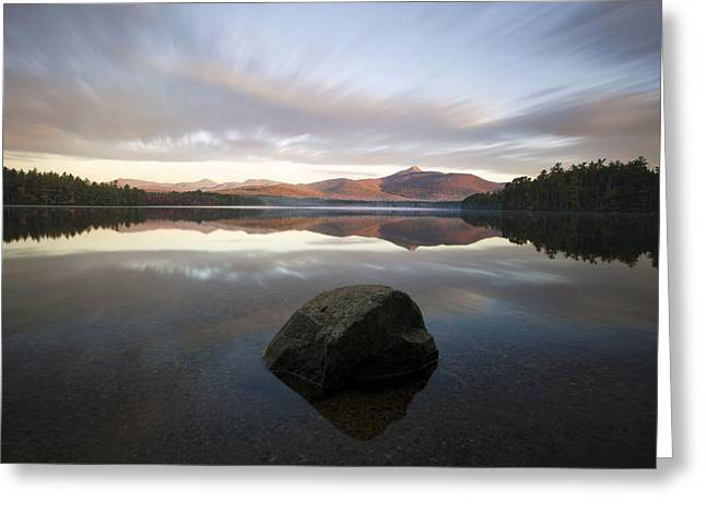 5d Greeting Cards - Chocorua Sunrise Greeting Card by Eric Gendron