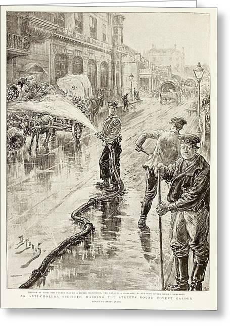 Cholera Control Greeting Card by British Library