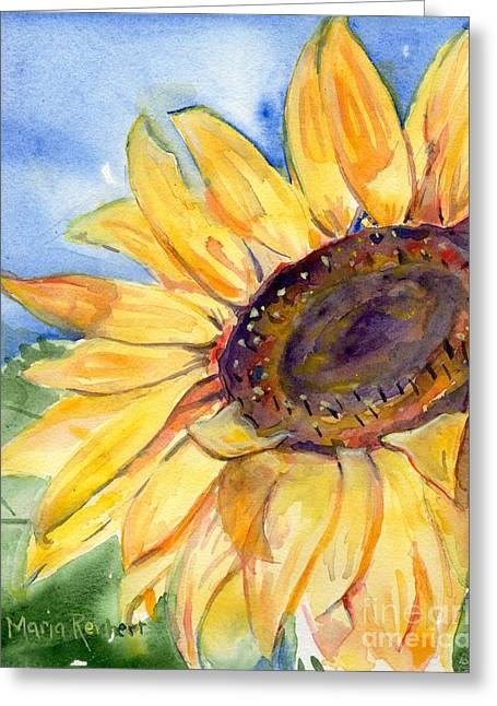 Choosing Paintings Greeting Cards - Choose To Shine Greeting Card by Maria