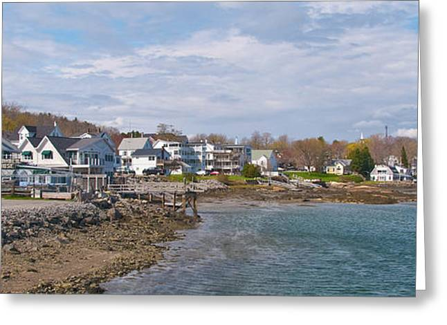 Chowder House Greeting Cards - Chowdah House 0225 Greeting Card by Guy Whiteley