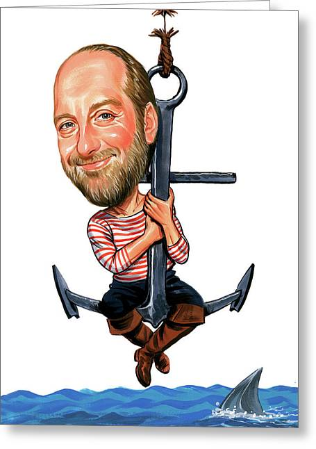 Chris Elliott Greeting Card by Art