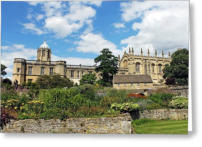 Ecclesiastics Greeting Cards - Christ Church Cathedral Oxford Greeting Card by Tony Murtagh
