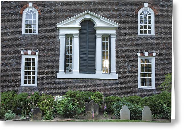 Historical Buildings Greeting Cards - Christ Church Episcopal IV Greeting Card by Steven Ainsworth