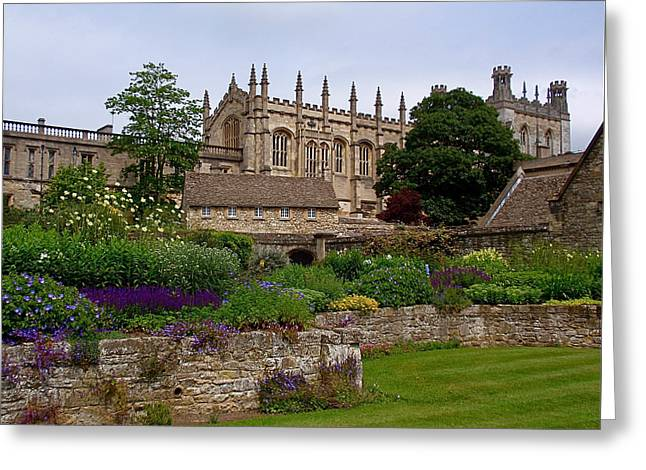 Christ Church In Spring Greeting Card by Rona Black