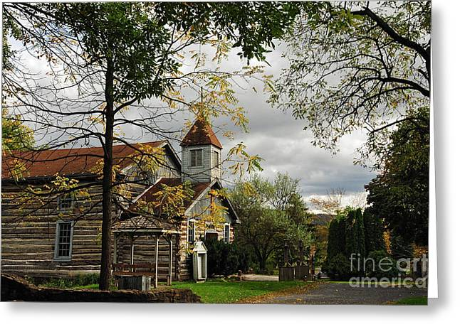 Old Christ Church Greeting Cards - Christ Church Greeting Card by Lois Bryan