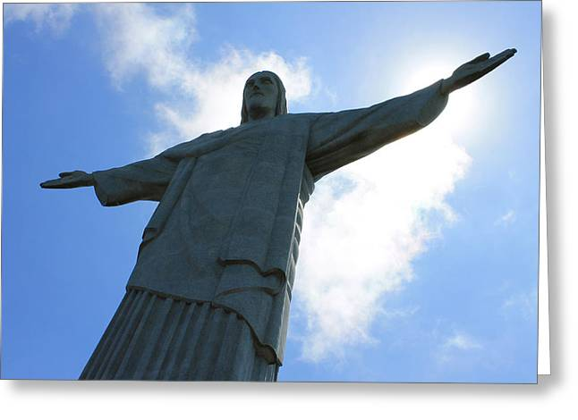 Rio De Janeiro Greeting Cards - Christ the Redeemer - Cristo Redentor II Greeting Card by Pedro MC