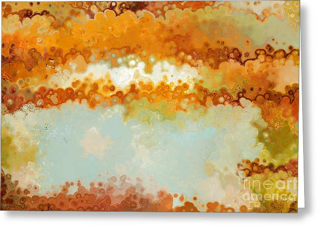 Religious Mixed Media Greeting Cards - Christian Art- Always With You. Acts 18 10  Greeting Card by Mark Lawrence