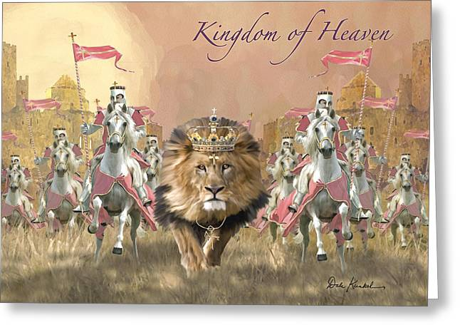 Kingdom Of Heaven Greeting Cards - Kingdom of Heaven Greeting Card by Dale Kunkel Art