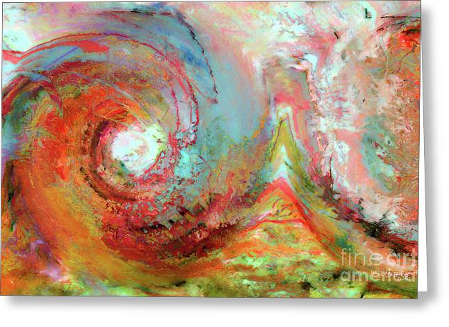 The Beginning Greeting Cards - Christian Art- The Beginning. Genesis 1 1 Greeting Card by Mark Lawrence