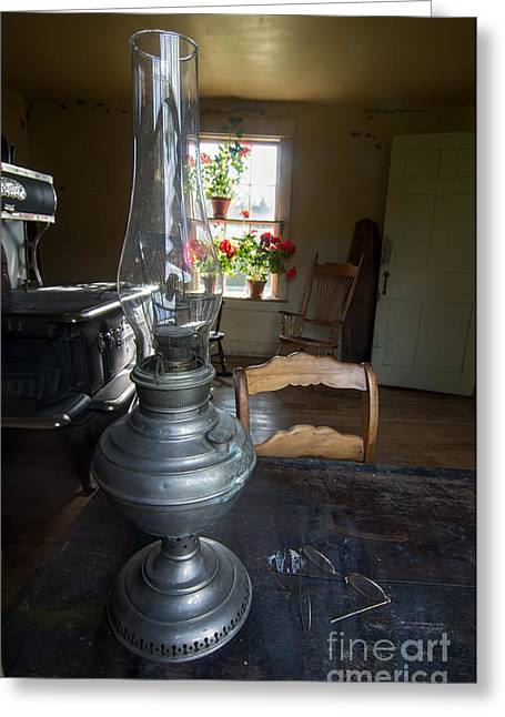 Olson House Greeting Cards - Christinas Kitchen Window Greeting Card by Scott Thorp