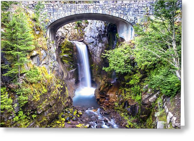 Fed Greeting Cards - Christine Falls Greeting Card by Kyle Wasielewski