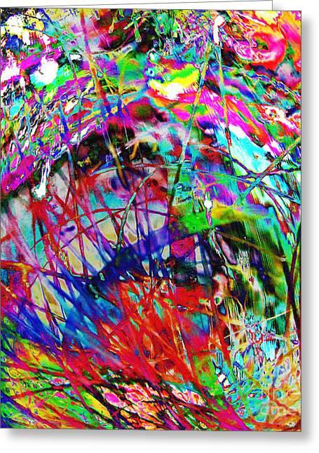 Confusing Digital Art Greeting Cards - Christmas 2 Greeting Card by Carol Lynch