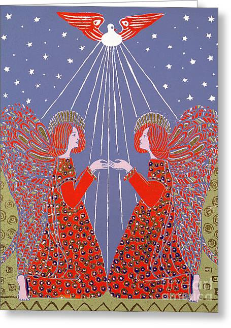 Garment Greeting Cards - Christmas 77 Greeting Card by Gillian Lawson