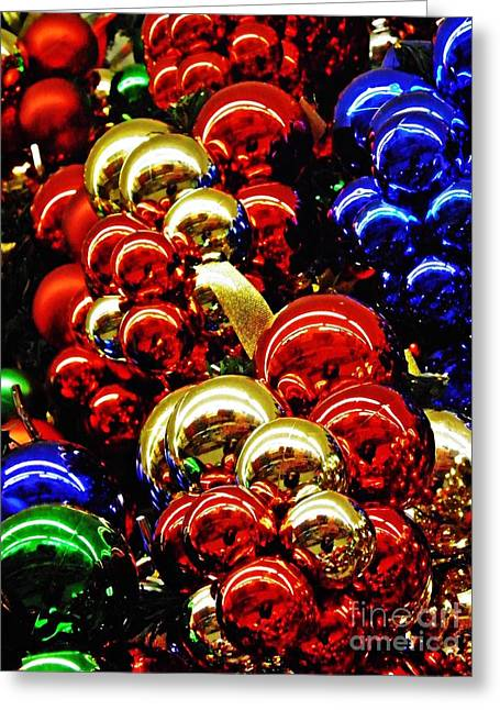 Sarah Loft Photographs Greeting Cards - Christmas Abstract 14 Greeting Card by Sarah Loft