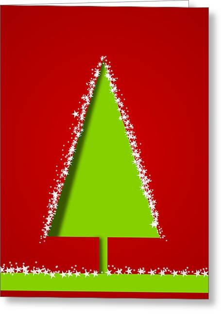 Christmas Greeting Greeting Cards - Christmas Card 17 Greeting Card by Martin Capek