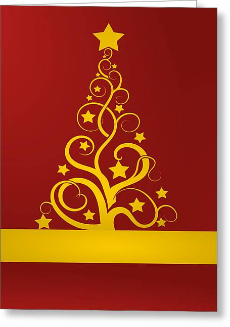Christmas Card Ideas Greeting Cards - Christmas card 9 Greeting Card by Martin Capek