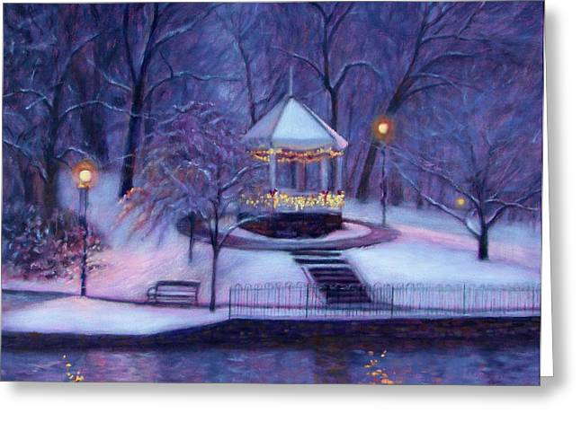 Decorated For Christmas Greeting Cards - Christmas Card Greeting Card by Bonnie Mason