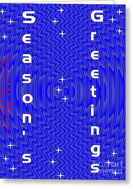 Cellphone Digital Art Greeting Cards - Christmas Cards And Artwork Christmas Wishes 11 Greeting Card by Gert J Rheeders