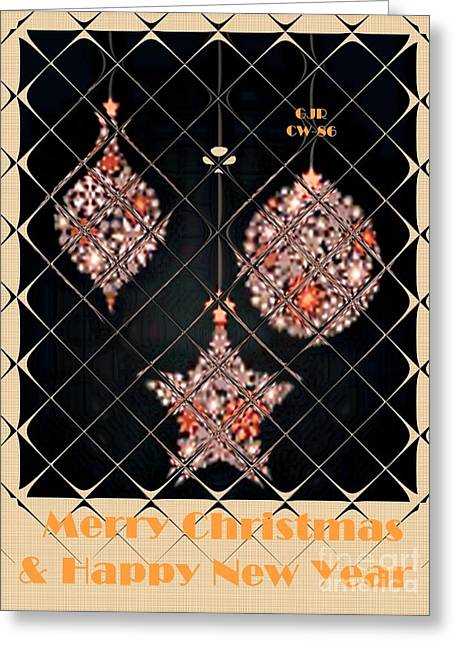 Cellphone Greeting Cards - Christmas Cards And Artwork Christmas Wishes 86 Greeting Card by Gert J Rheeders