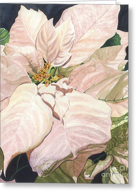 Close Up Paintings Greeting Cards - Christmas Classic Greeting Card by Barbara Jewell