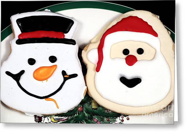 Christmas Cookies Greeting Card by John Rizzuto