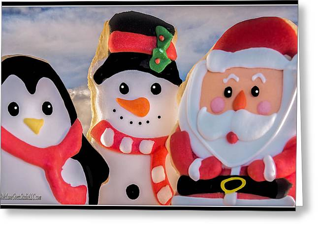 Milk And Cookies Greeting Cards - Christmas Cookies  Greeting Card by LeeAnn McLaneGoetz McLaneGoetzStudioLLCcom