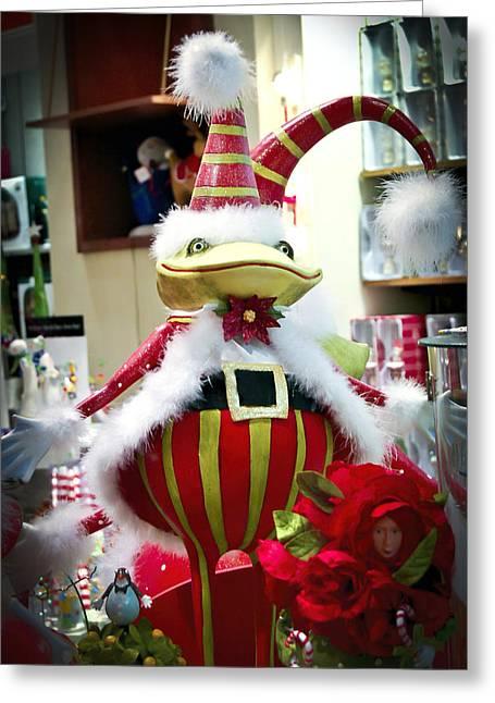 St. Nick Greeting Cards - Christmas Decor Greeting Card by Jon Berghoff