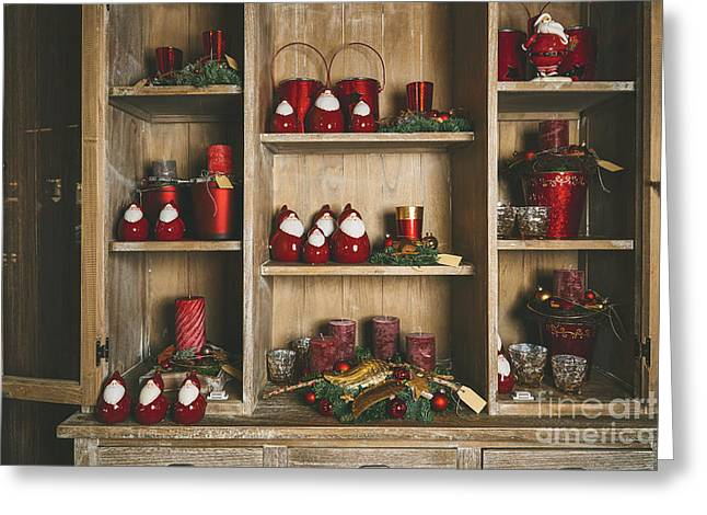 Toy Shop Greeting Cards - Christmas decoration Greeting Card by Miroslaw Oslizlo
