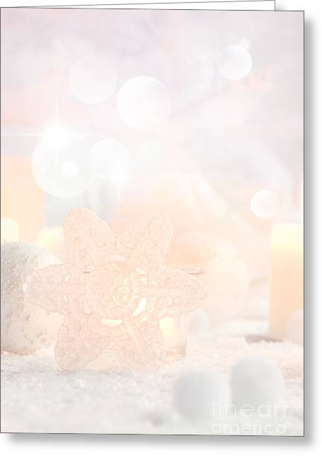 Banquet Greeting Cards - Christmas decoration Greeting Card by Mythja  Photography